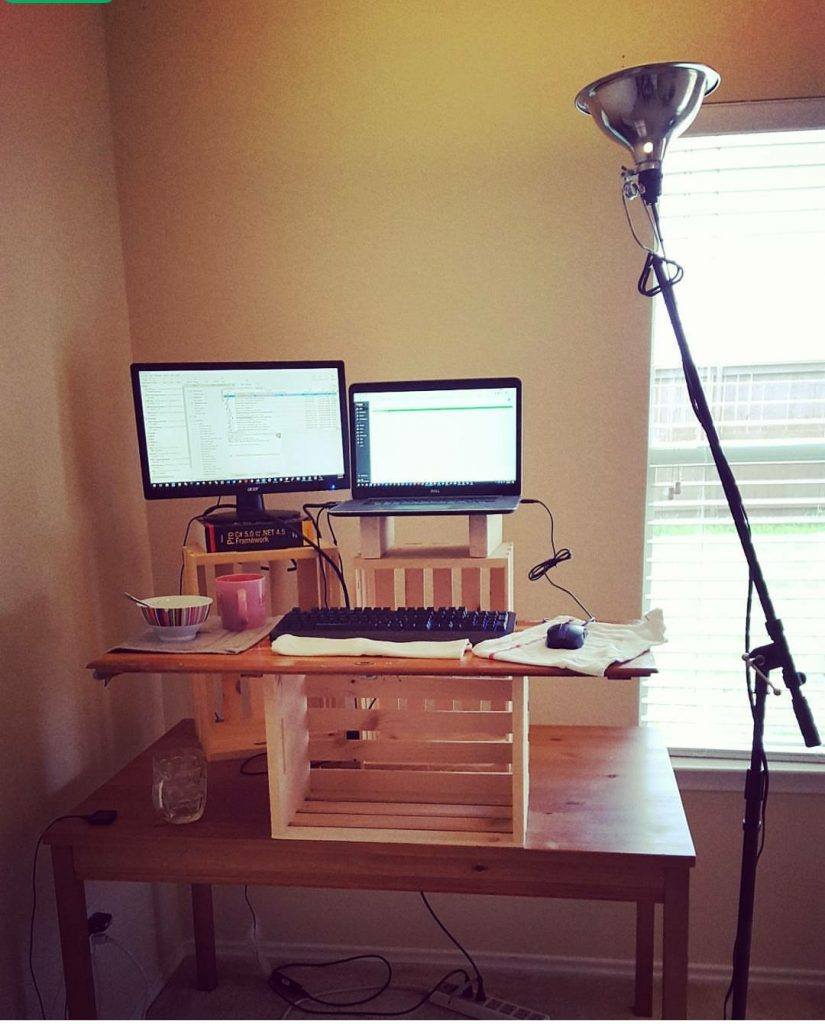 Awe Inspiring Budget Standing Desk By Able Desk Co Review Coder Coder Download Free Architecture Designs Embacsunscenecom