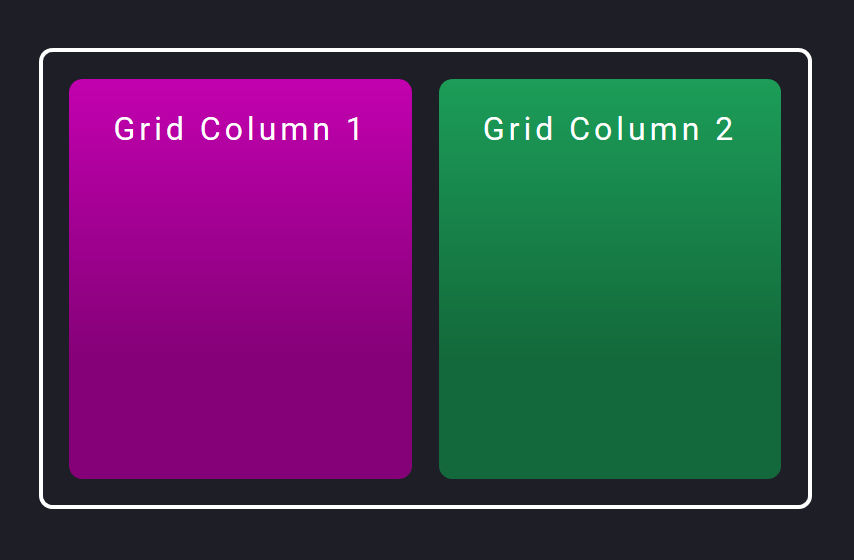 divs side by side using CSS grid